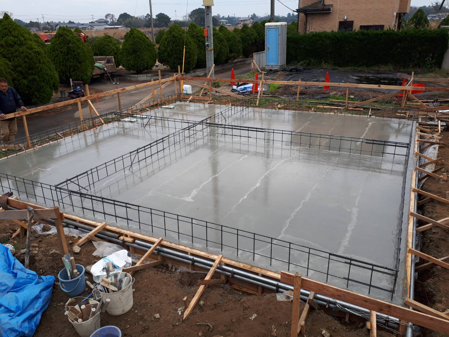 基礎工事/コンクリート打設